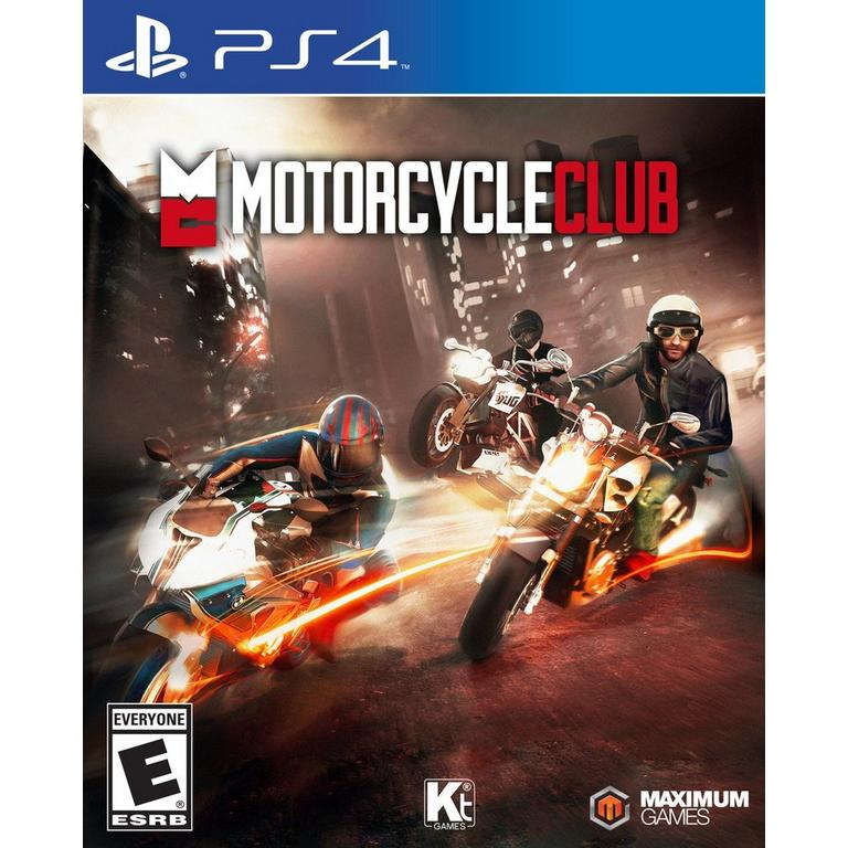 Jeu PS4 Motorcycle club  (occasion)