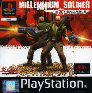 Jeu PS1 Millennium Soldier Expendable Occasion FR