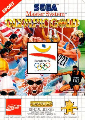 Jeu Master System Olympic Gold Barcelona '92 Occasion Multi langues