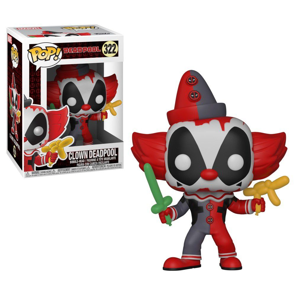 Funko Pop Marvel Deadpool 322 Clown