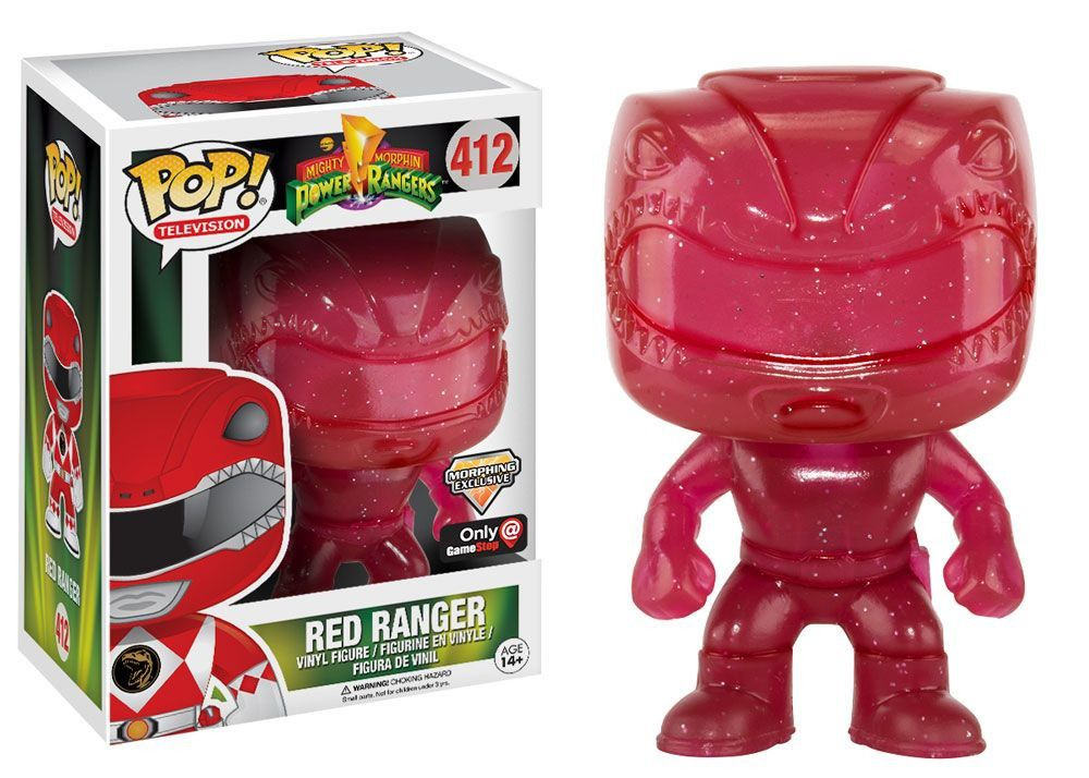 Power Rangers Morphing Red Ranger Exclusive
