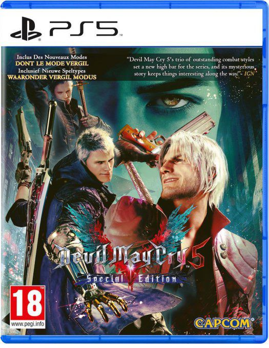 Jeu PS5 DEVIL MAY CRY 5 SPECIAL EDITION