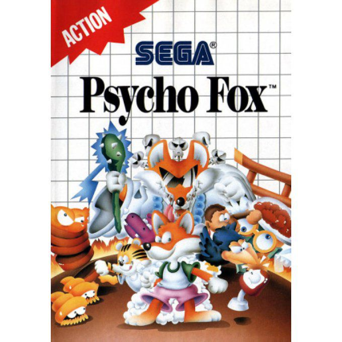 Jeu Master System Psycho Fox Occasion Multi langues