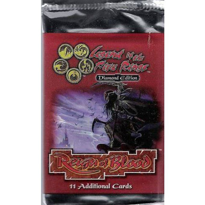 Booster Legend of the Five Rings Reign of Blood EN