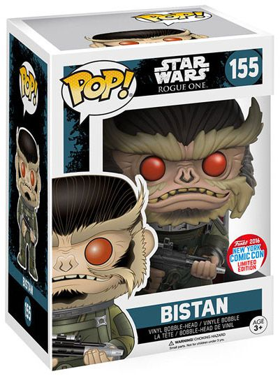 Funko Pop Star Wars 155 Bistan New York Comic Con
