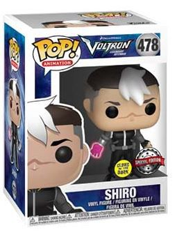 Funko Pop Voltron Shiro Exclusive Glow in the Dark