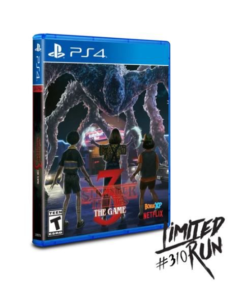 Jeu PS4 Stranger Things 3 : The Game PS4 Limited Run