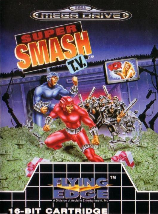 Mega Drive Pal SUPER SMASH TV Occasion