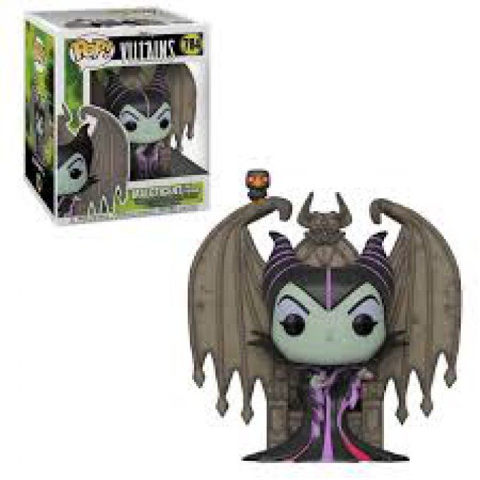 Funko POP Disney Villains- Maleficent on throne  784