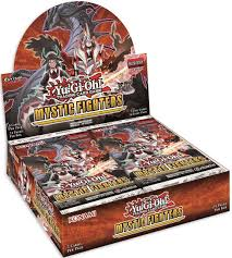 Yu-Gi-Oh Boîte de 24 Boosters Mystic Fighters  Anglais