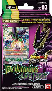 Dragon Ball Super Card Game DECK EXPERT THE ULTIMATE LIFE FORM