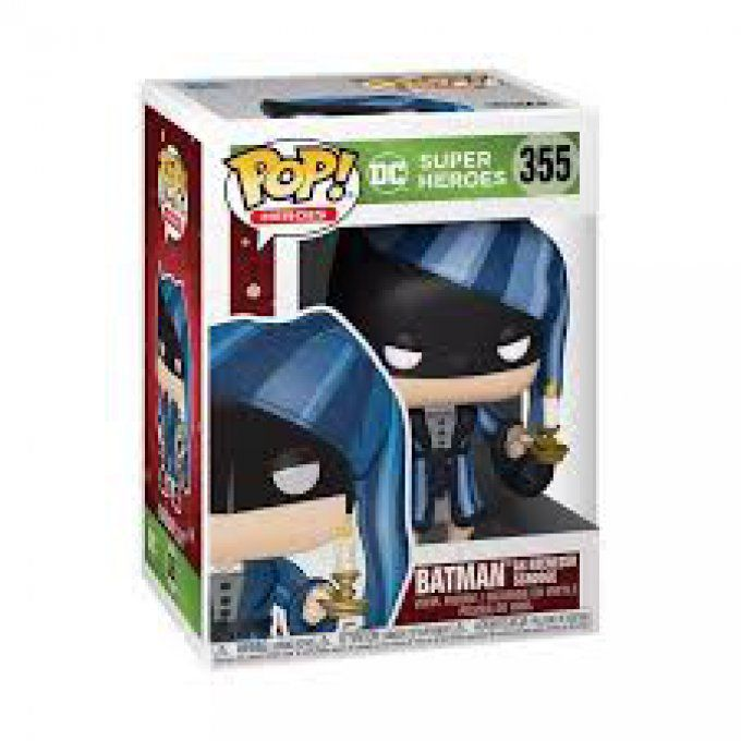 Funko POP ! - DC Super Heroes 355 - Batman As Ebenezer Scrooge