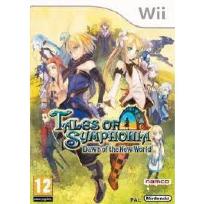 Tales of Symphonia : Dawn of the New World sur Wii Occasion