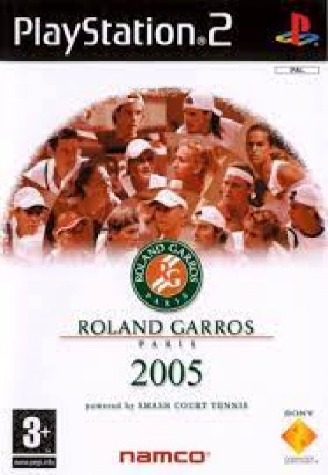 Jeu PS2 Roland Garros 2005 : powered by smash court tennis