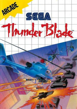 Jeu Master System Thunder Blade Occasion Multi langues
