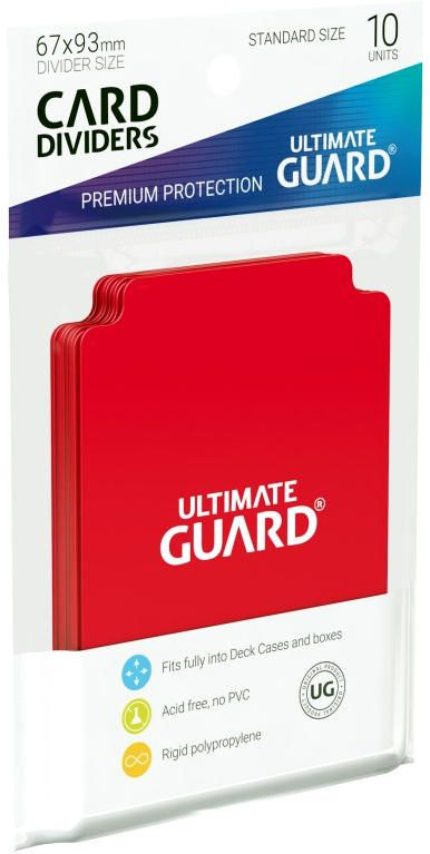 Ultimate Guard Card Dividers - Couleur Variable