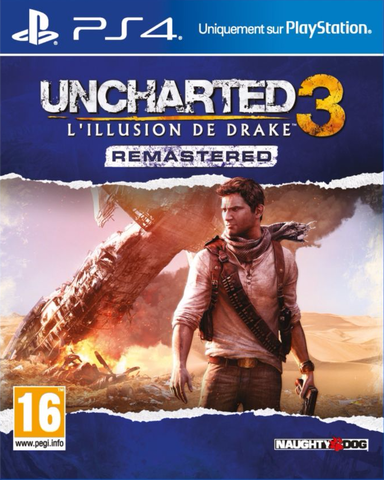 Uncharted 3 Drake's deception PS4 (occasion)