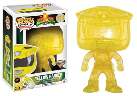 Power Rangers Morphing Yellow Ranger Exclusive